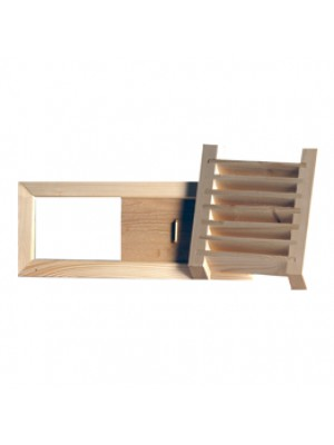 Wood Grill as well as Ventilation Valve Combo