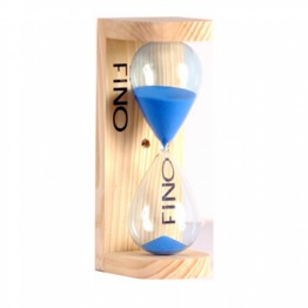 Deluxe Blue Sauna Sand Timer Included in this Package