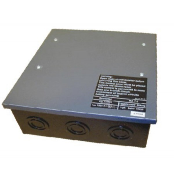 Commercial Contactor Box for 3 Phase LA Commercial Sauna Heaters